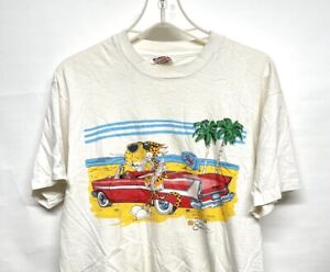Vintage 80s Paper Thin 5050 Keene State College Beach  Night Shirt