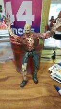 "1998 Forest Zombie 4.75"" Capcom Toy Biz Action Figure Resident Evil Walking Dead"