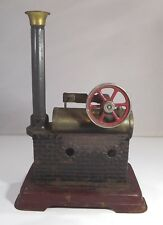 Vintage Tin-Plate Steam Engine of German Origins