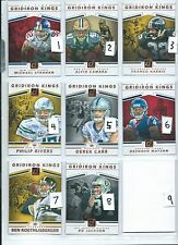 2017 Donruss Gridiron Kings Derek Carr # 7  (26-5)