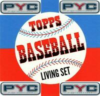 2019 Topps The Living Set Baseball MLB Pick Your Cards/Make Lot/Finish Set 251+