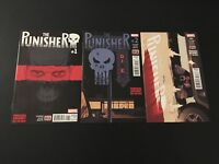 The Punisher 1-3 High Grade Lot run set collection Marvel Comics