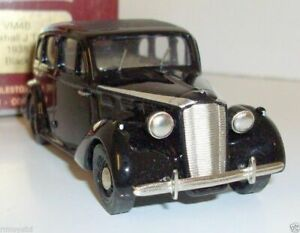 MILESTONE GEMS & COBWEBS 1/43 - VM4B VAUXHALL J TYPE 1938 BLACK