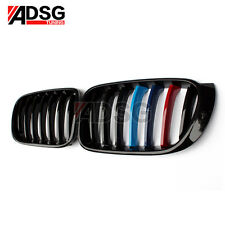 For BMW X3 F25 X4 F26 Glossy M Color Grille 1 Slat Front Grill 20i 28i 35i 14-16