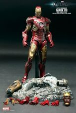 Hot Toys Avengers Iron Man Mark VII 7 BD Battle Damaged MMS196