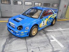 SUBARU Impreza WRC Rallye 2001 New Zealand 555 #5 Burns NZ IXO Altaya 1:18