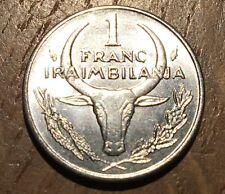 PIECE DE 1 FRANC MADAGASCAR 1993 (166)