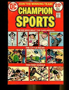 CHAMPION SPORTS 1 (8.0) THE KID WHO BEAT OAKLAND A's DC (B034)