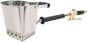 4 Jet Cement Stucco Sprayer Gun Plaster Mortar Automatic Air Panting Tool