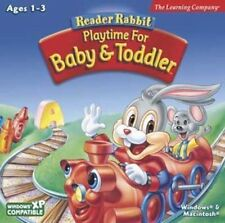 READER RABBIT PLAYTIME FOR BABY & TODDLER  for Ages 1-3  Brand New Sealed