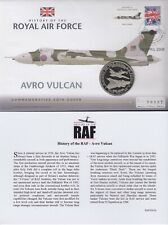 2008 Bank of Nauru First Day Coin Cover History of the RAF FDC COA AVRO VULCAN
