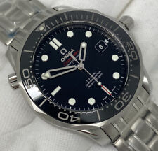 OMEGA Seamaster 300m Black Ceramic CoAxial 41mm Brand New Box Papers Warranty