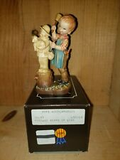 "Anri Ferrandiz Figurine ""20 Years of Love"" 5"" w/ Box Club Figurine"
