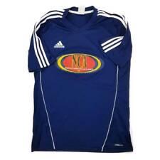 Adidas Mens Jersey Blue White North Carolina Alliance 4 Climalite Short Sleeve M