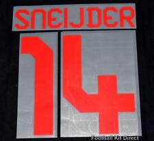 Galatasaray Sneijder 14 2012/13 Football Shirt Name/number Set Away