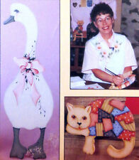 NANCY MICHAEL CAT GOOSE PROJECT ACRYLIC ART BEGINNER PAINTING LESSON VHS VIDEO