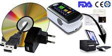 CONTEC New SPO2 Monitor CMS50E+SW,pulse oximeter+USB,pulse oxygen saturation