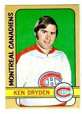 1X KEN DRYDEN 1972-73 opc #145 EXNM O Pee Chee Canadiens
