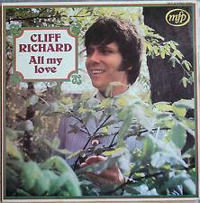 "CLIFF RICHARD ""ALL MY LOVE""  LP"