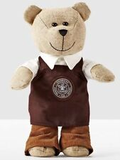 STARBUCKS Holiday TEDDY BEAR BEARISTA Pike Place Brown Apron Box NEW RARE