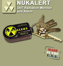 NukAlert™ nuclear radiation detector / monitor portable