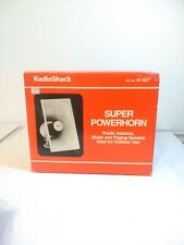 NEW in Box Vintage Realistic Radio Shack Super Power Horn 40-1307