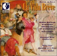 de Falla: La Vida Breve: Simon Bolivar Symphony; Mata (CD, 1994, Dorian) VGC