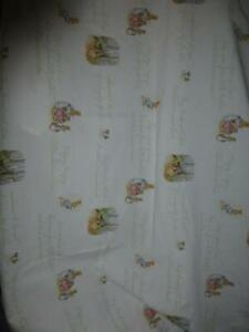 Pottery Barn Peter Rabbit Fitted Crib Sheet 100% Organic Cotton Nursery Baby