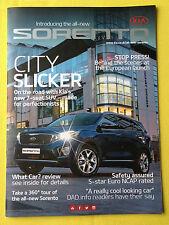 Kia Sorento official dealer marketing sales promo magazine AWD 2015 MY MINT SUV