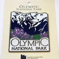 Official Olympic National Park Souvenir Patch - Washington Pacific Northwest