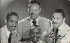 Black Men Music Group Billy Williams Quartet - Arcade Exhibit Card