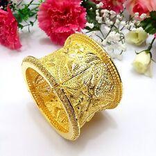 Indian Asian Size:2.8 Pakistani Bridal Jewellery 22ct Gold Plated Bracelet /Kada