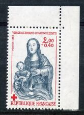 STAMP / TIMBRE FRANCE NEUF N° 2296a ** VIERGE A L'ENFANT / ISSUS DE CARNET