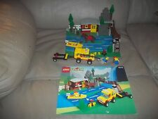 Lego City/Town 6552 Rocky River Retreat 100% Rare Hard to find Vintage