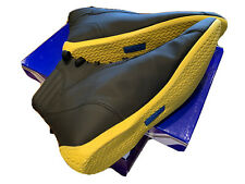SPARCO Monza Edición Limitada Negro/Amarillo Zapatos Nuevo Tamaño 44