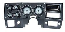 1973-87 Chevy C10 Truck Silver Alloy & White Dakota Digital VHX Analog Gauge Kit
