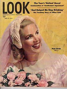 1947 LOOK June 18 - Salvador Dali; Alcoholism; MacArthur; Sarah Lawrence; Kisses