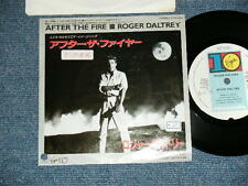 "ROGER DALTREY THE WHO Japan 1985 PROMO 7""45 AFTER THE FIRE"