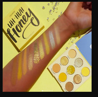 100% Authentic New Colourpop Uh Huh Honey Yellow Eye Shadow Palette New In Box