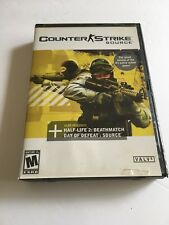 Counter-Strike: Source (PC, 2005) 4 Discs in very good condition