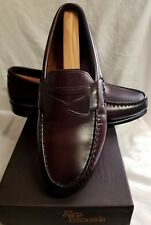 Allen Edmonds Walden Burgundy Loafer Shoe 10 EEE