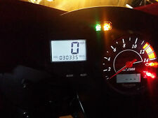 Blanco Triumph Daytona 600 650 LED Dash Kit de conversión de Reloj lightenupgrade