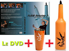 1 FLAIR BOTTLE FLYBOTTLE CLASSIC NEON + THE DVD FLAIR SESSION 2 + 1 SHAKER