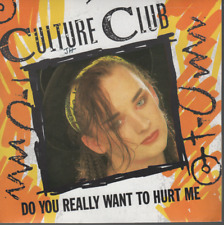 "Culture Club Do You Really Want To Hurt Me 45T 7"" france french pressing"