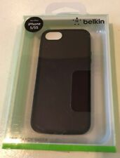 LOT OF 20! BELKIN Grip Candy Sheer Case for iPhone 5 5S - NEW Gravel / Black