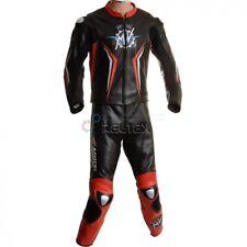 Rot Schwarz Mv Agusta Sport Wsb Track Ce Motorrad Leder Biker Jacke Hose Suit