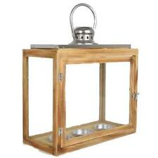 Wooden House Hanging Candle & Tea Light Holders