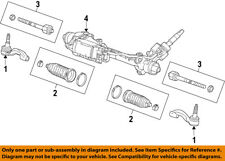 GM OEM Steering Gear-Outer Tie Rod End 22961953