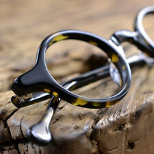 Luxury Handmade Retro Eyeglass frames Acetate Small round Wood Glasses Spectacle