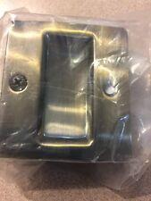 Stanley National N336-404 Antique Brass Pocket Door Pull